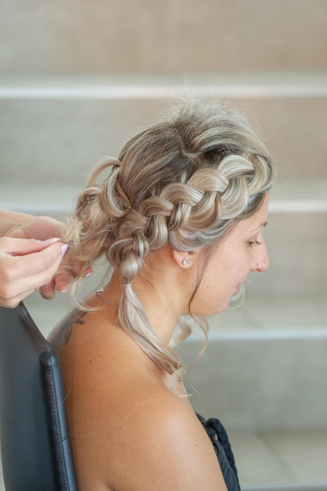 La préparation de la mariée. Géraldine wedding planner. Wedding planner suisse
