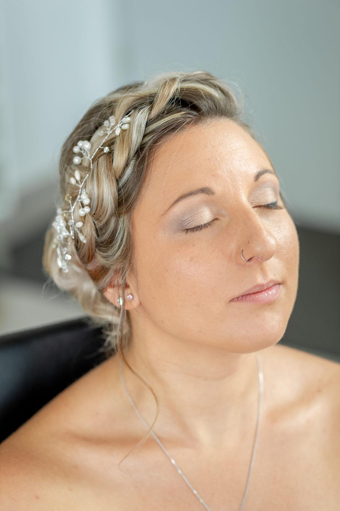 Préparation de la mariée. Géraldine wedding planner. Wedding planner suisse