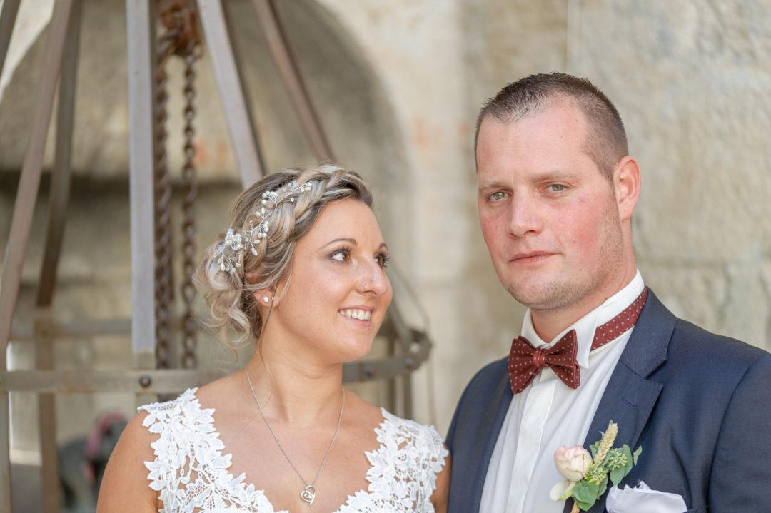 Shooting des mariés au château d'Aigle. Géraldine wedding planner. Wedding planner suisse