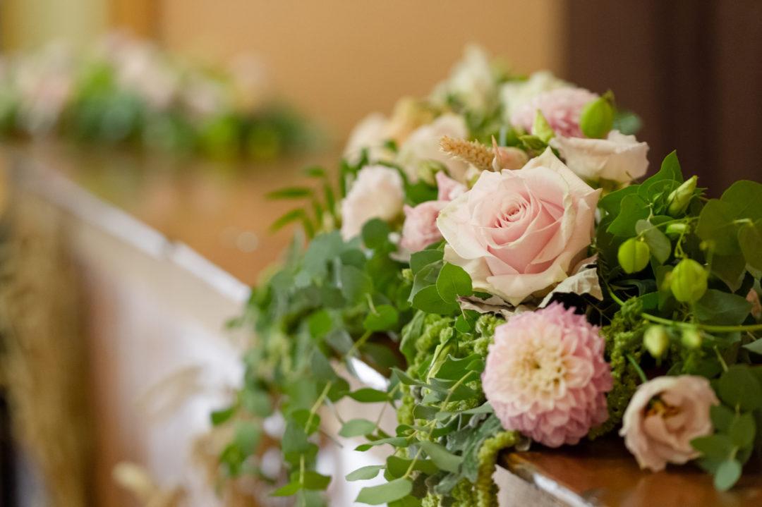 Composition florale mariage. Géraldine wedding planner. Wedding planner suisse