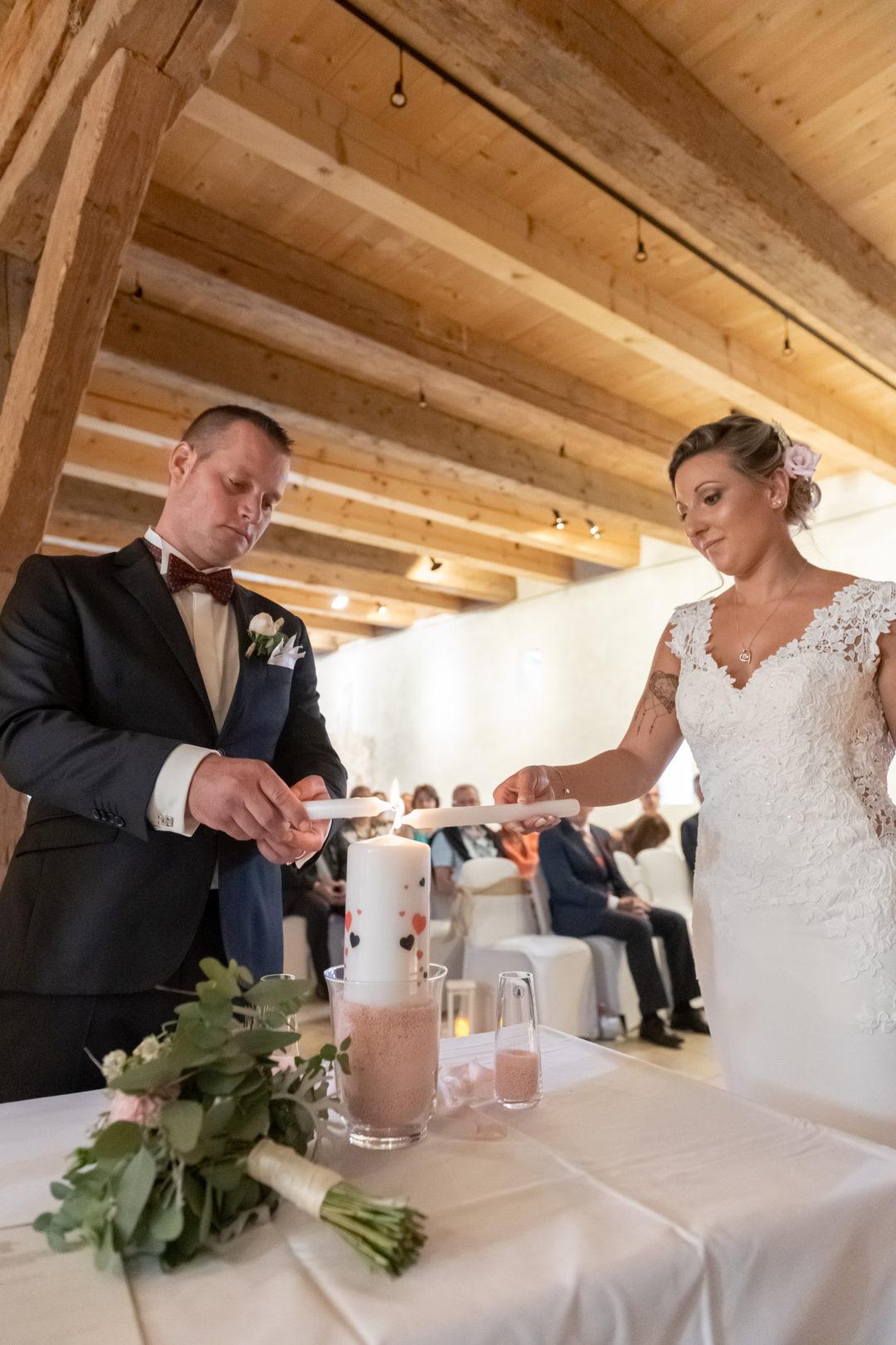 Rituel de la chandelle. Géraldine wedding planner. Wedding planner suisse