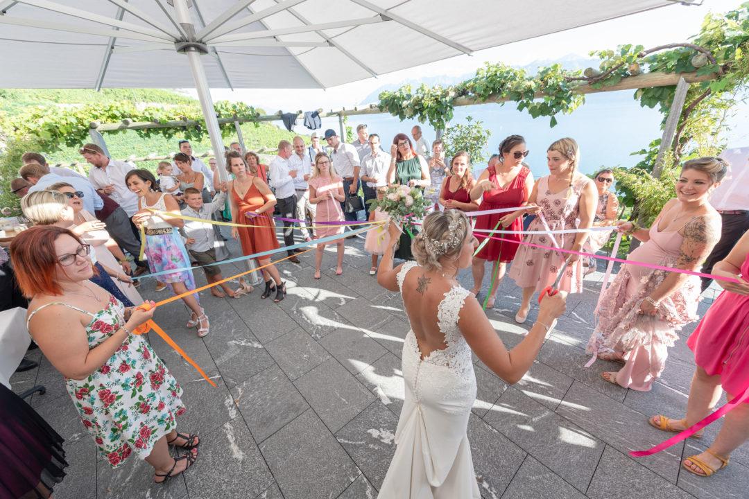 La ronde des rubans. Géraldine wedding planner. Wedding planner suisse