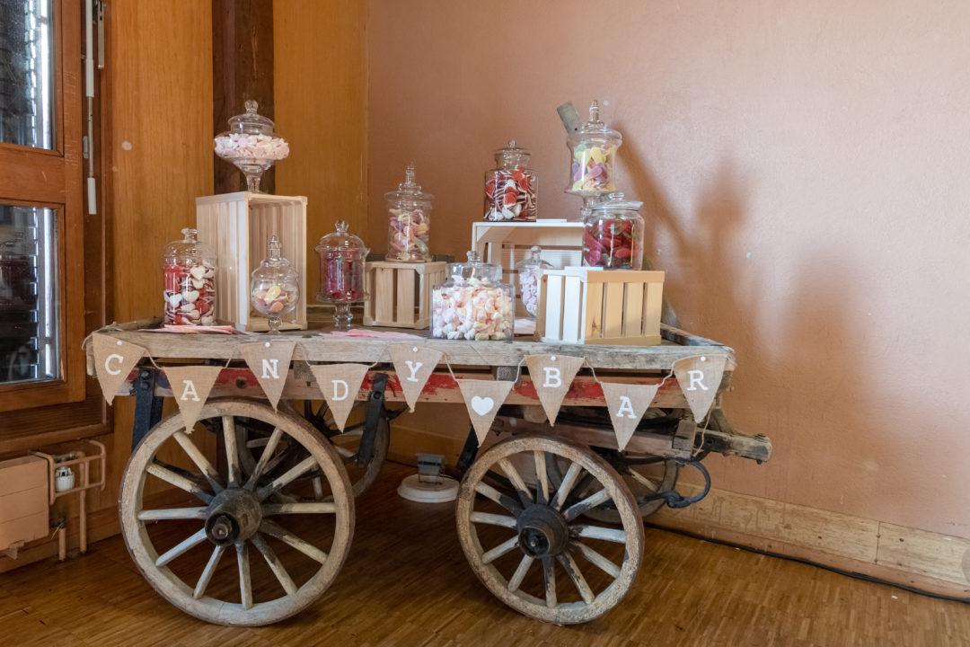 Candy bar mariage. Géraldine wedding planner. Wedding planner suisse