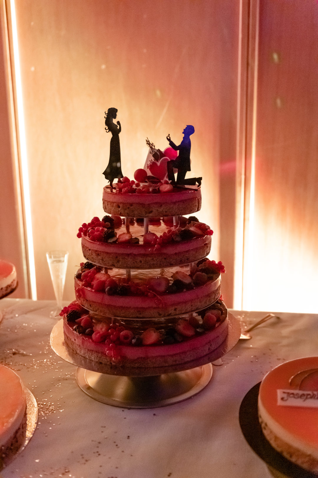 Gâteau des mariés. Géraldine wedding planner. Wedding planner suisse
